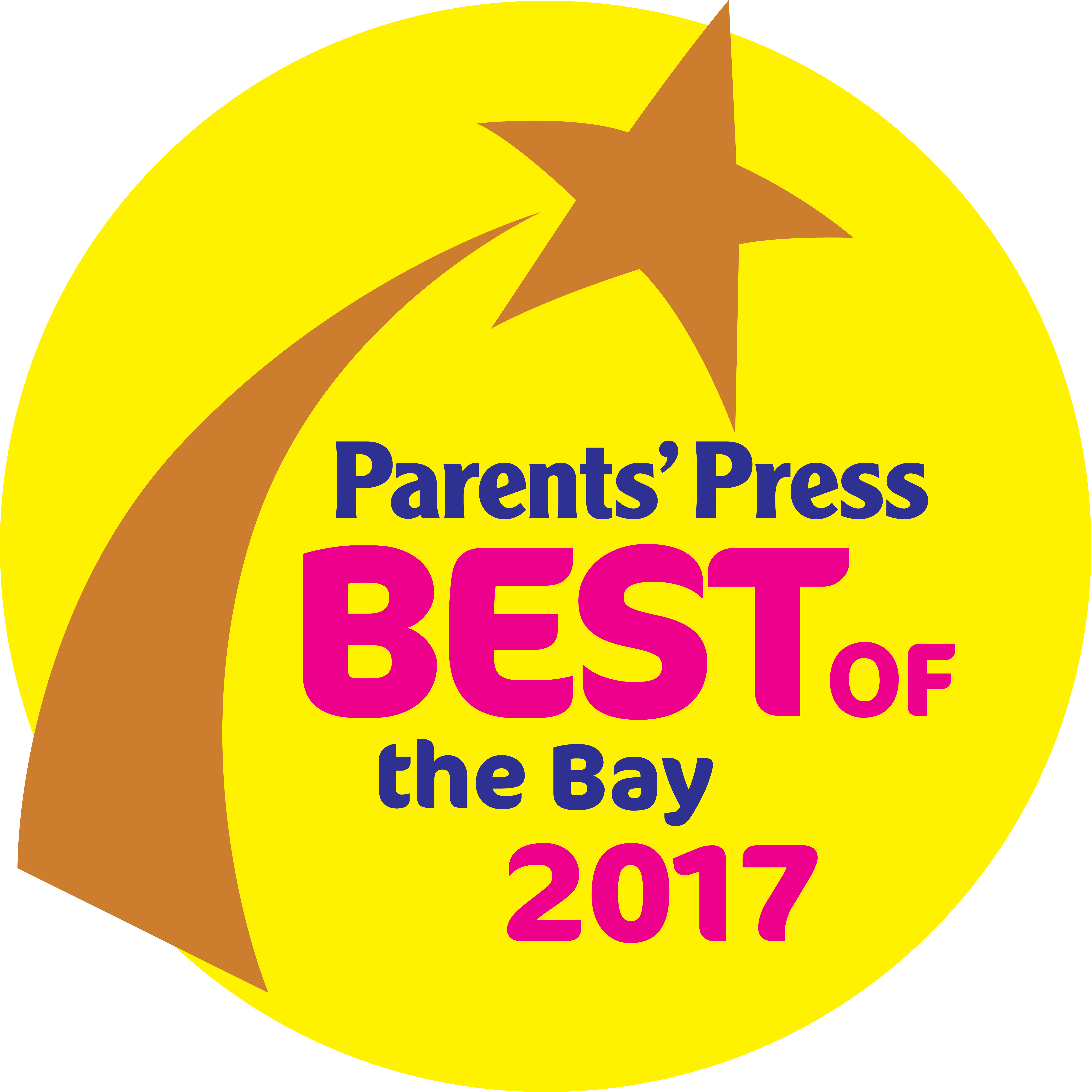 Parents Press Reader's Choice for 2017
